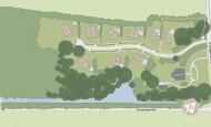 Situatiekaart Buitenplaats Oudeweg - Bouwnummer 1