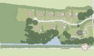 Situatiekaart Buitenplaats Oudeweg - Bouwnummer 2