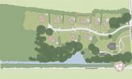 Situatiekaart Buitenplaats Oudeweg - Bouwnummer 3