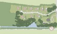 Situatiekaart Buitenplaats Oudeweg - Bouwnummer 4