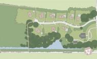 Situatiekaart Buitenplaats Oudeweg - Bouwnummer 6